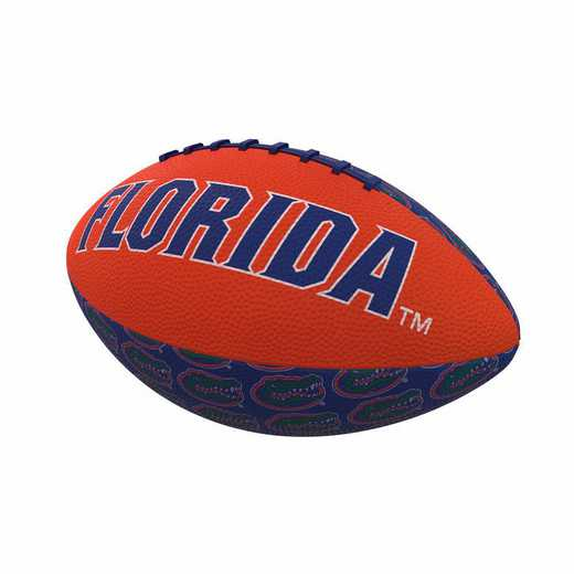 135-93MR-3: Florida Repeating Mini-Size Rubber Football