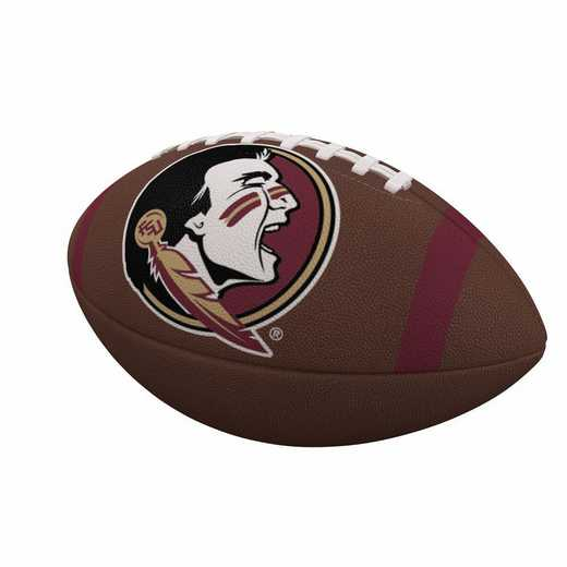 136-93FC-1: FL State Team Stripe Official-Size Composite Football