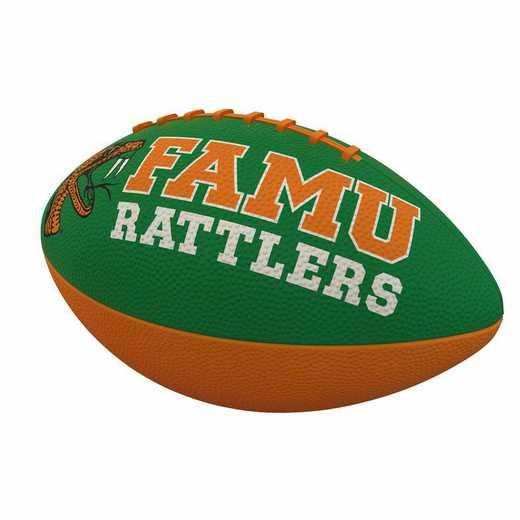 137-93JR-1: Florida A&M Combo Logo Junior-Size Rubber Football