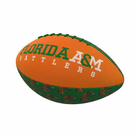 137-93MR-3: Florida A&M Repeating Mini-Size Rubber Football