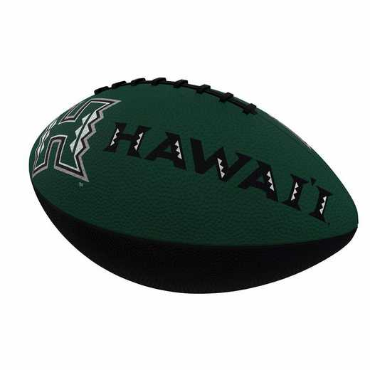 146-93JR-1: Hawaii Combo Logo Junior-Size Rubber Football