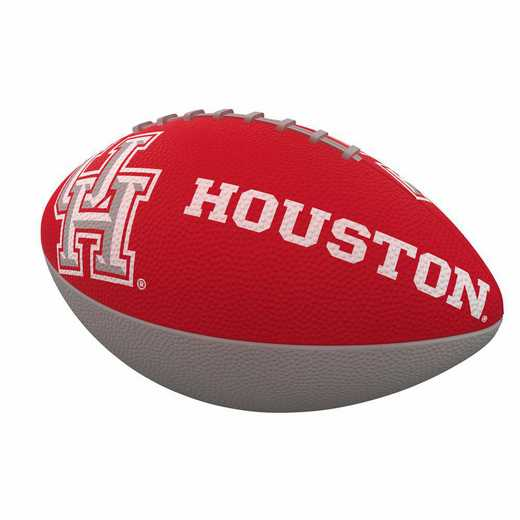 148-93JR-1: Houston Combo Logo Junior-Size Rubber Football
