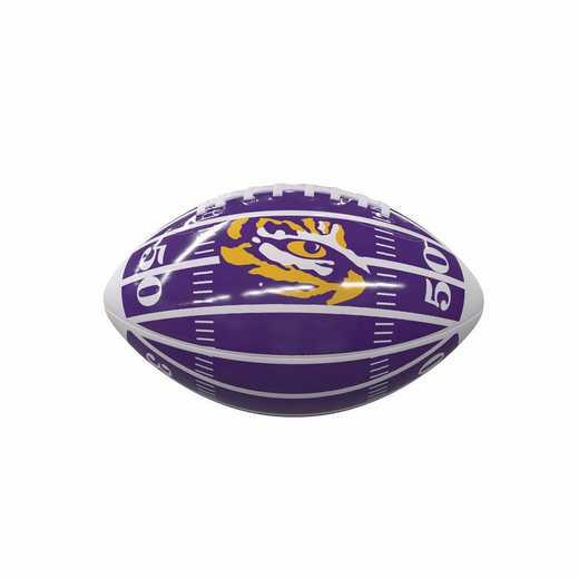 162-93MG-2: LSU Field Mini-Size Glossy Football