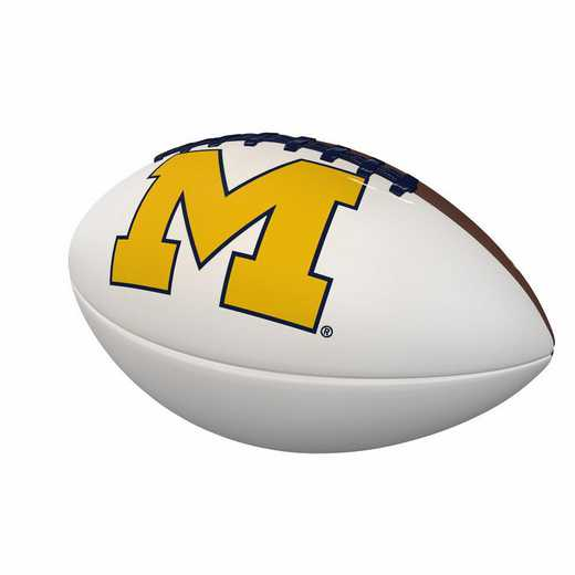 171-93FA-1: Michigan Official-Size Autograph Football