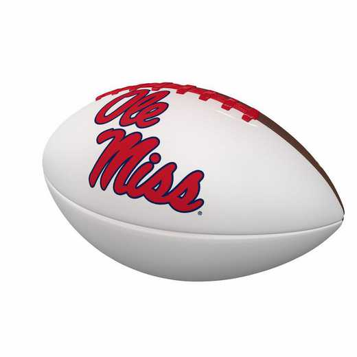 176-93FA-1: Ole Miss Official-Size Autograph Football