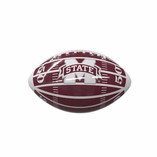 177-93MG-2: Mississippi State Field Mini-Size Glossy Football