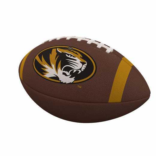 178-93FC-1: Missouri Team Stripe Official-Size Composite Football