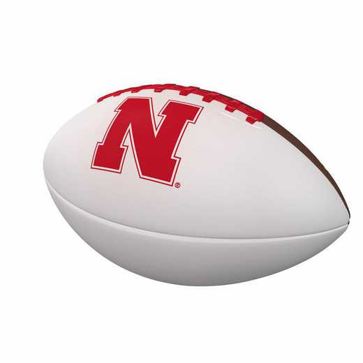 182-93FA-1: Nebraska Official-Size Autograph Football