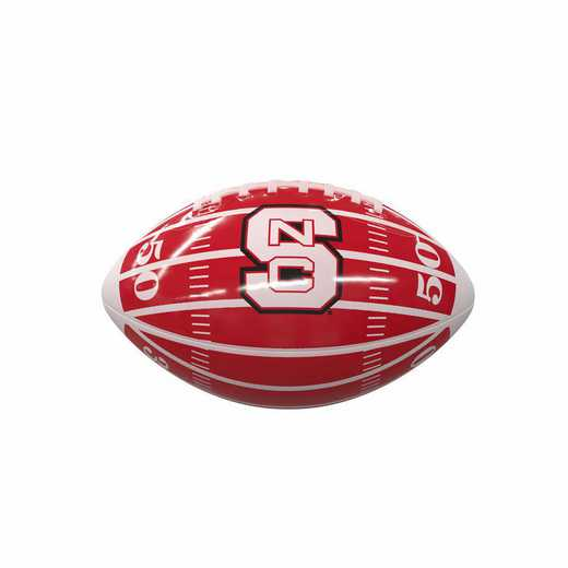 186-93MG-2: NC State Field Mini-Size Glossy Football