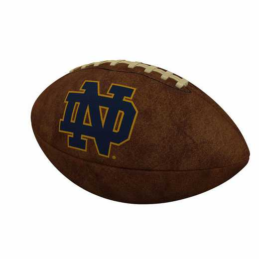 190-93FV-1: Notre Dame Official-Size Vintage Football