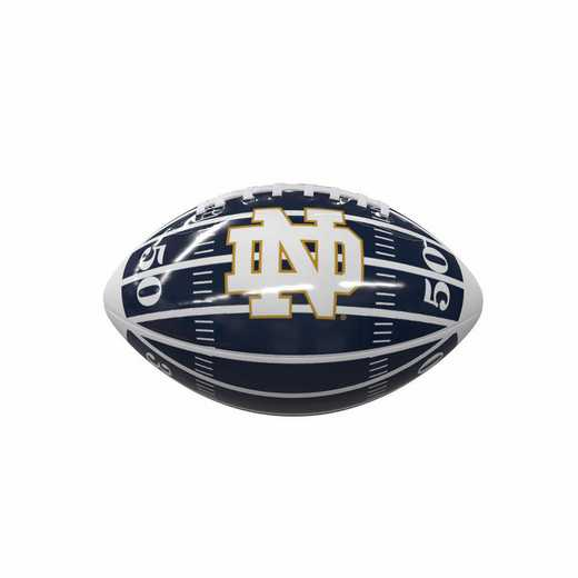 190-93MG-2: Notre Dame Field Mini-Size Glossy Football