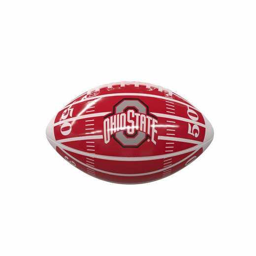 191-93MG-2: Ohio State Field Mini-Size Glossy Football