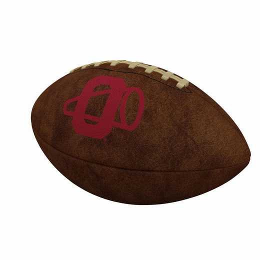 192-93FV-1: Oklahoma Official-Size Vintage Football