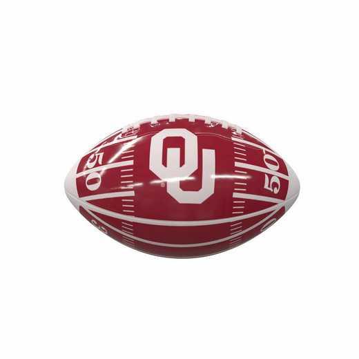 192-93MG-2A: Oklahoma Field Mini-Size Glossy Football
