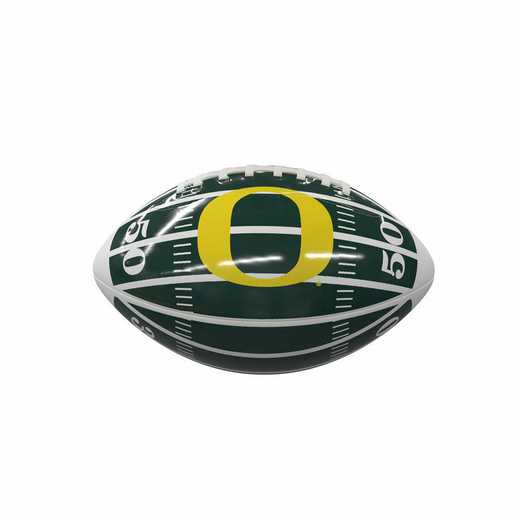 194-93MG-2: Oregon Field Mini-Size Glossy Football
