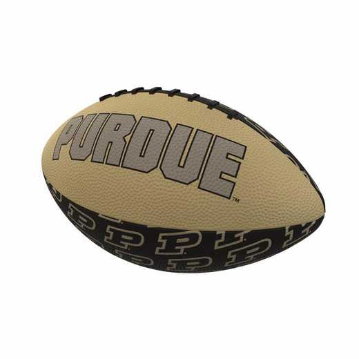 201-93MR-3: Purdue Repeating Mini-Size Rubber Football