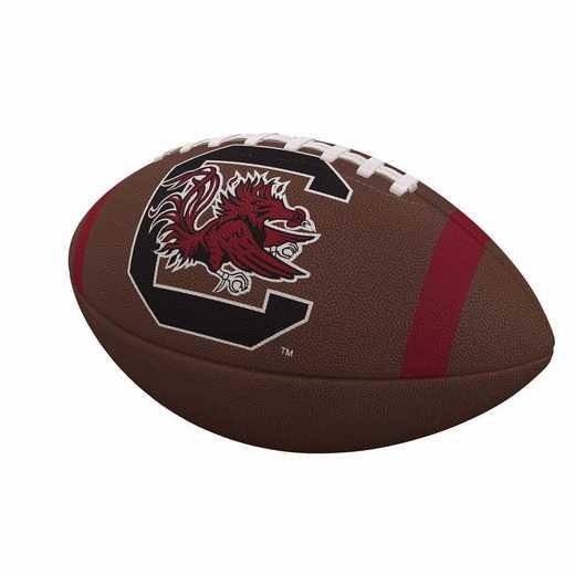 208-93FC-1: South Carolina Team Stripe Official-Size Composite Football