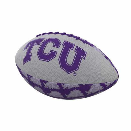 215-93MR-3: TCU Repeating Mini-Size Rubber Football