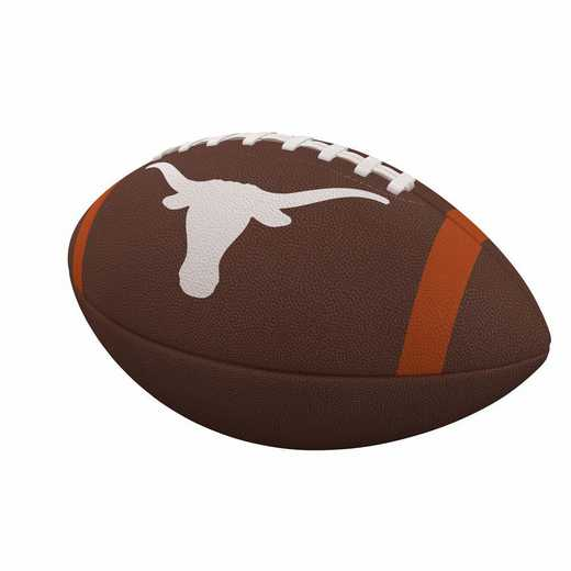 218-93FC-1: Texas Team Stripe Official-Size Composite Football