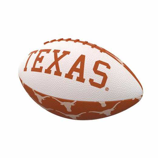 218-93MR-3: Texas Repeating Mini-Size Rubber Football