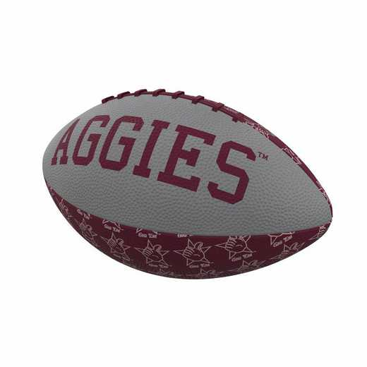 219-93MR-3: TX A&M Repeating Mini-Size Rubber Football