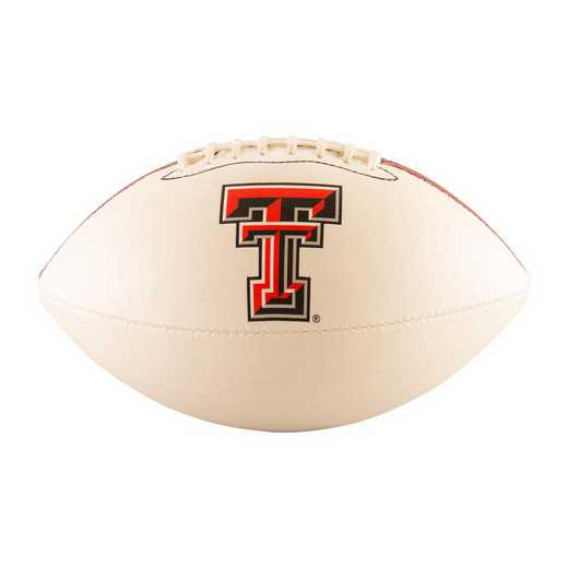 220-93FA-G: TX Tech Full-Size Autograph Football