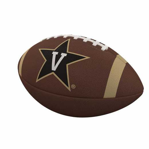 232-93FC-1: Vanderbilt Team Stripe Full-Size Composite Football