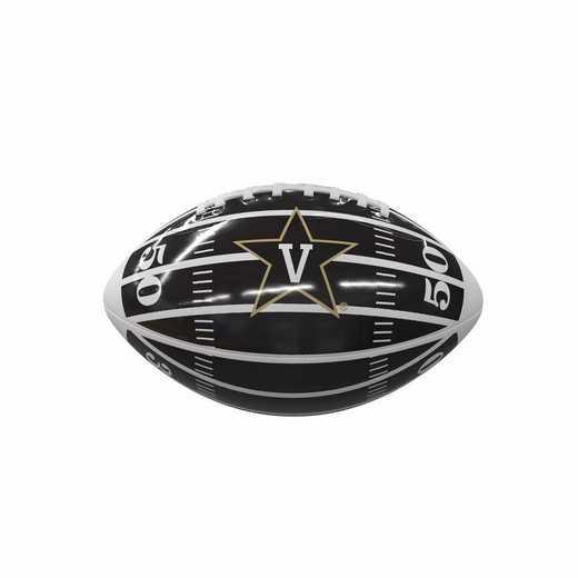 232-93MG-2: Vanderbilt Field Mini-Size Glossy Football