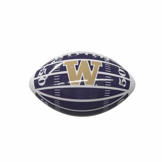 237-93MG-2: Washington Field Mini-Size Glossy Football