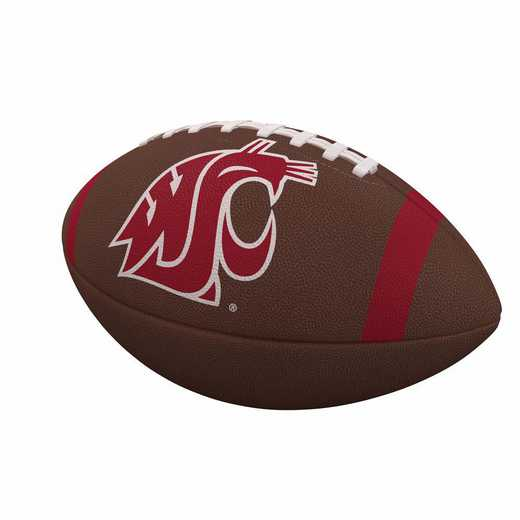 238-93FC-1: WA State Team Stripe Official-Size Composite Football