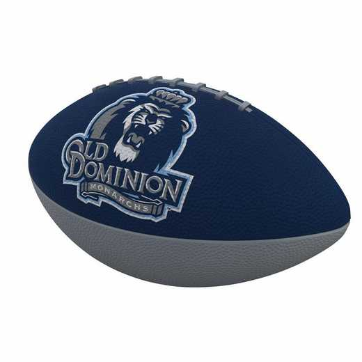 360-93JR-1: Old Dominion Combo Logo Junior-Size Rubber Football