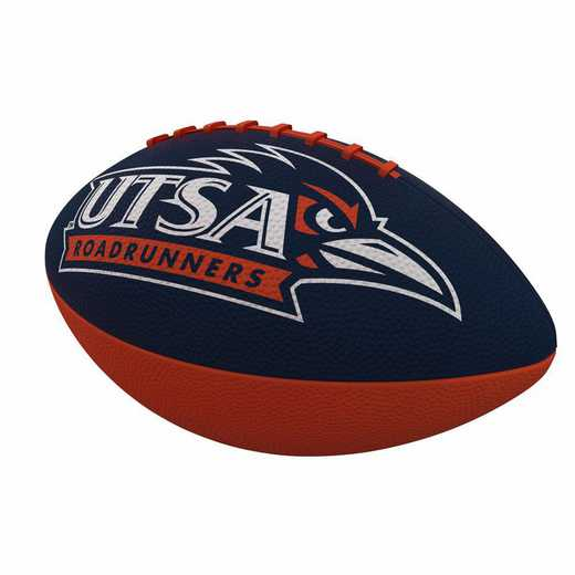 379-93JR-1: Texas-San Antonio Combo Logo Junior-Size Rubber Football