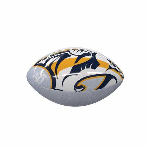 817-93MG-C1: Nashville Predators Ice Mini-Size Glossy Football