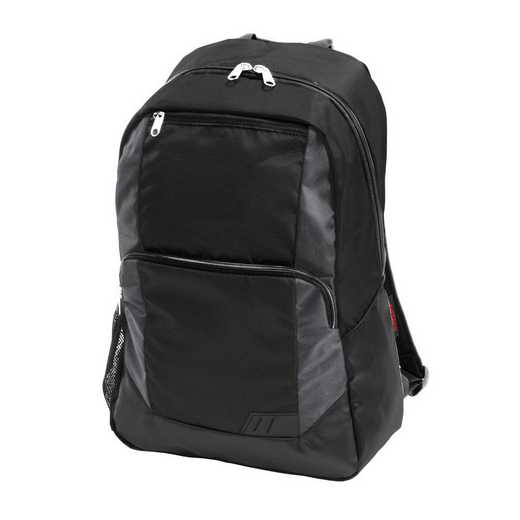 001-86-CHARCOAL: Plain Charcoal Closer Backpack