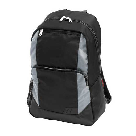 001-86-GRAY: Plain Gray Closer Backpack
