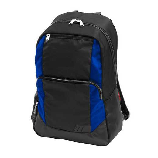 001-86-ROYAL: Plain Royal Closer Backpack