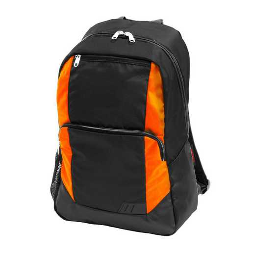 001-86-TANGERINE: Plain Tangerine Closer Backpack