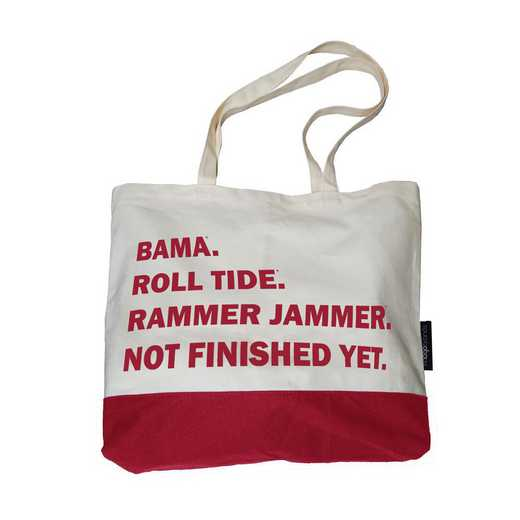 102-66F-1: Alabama Favorite Things Tote