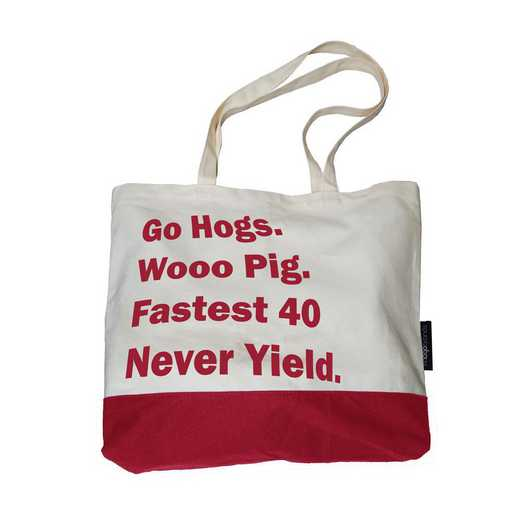 108-66F-1: Arkansas Favorite Things Tote