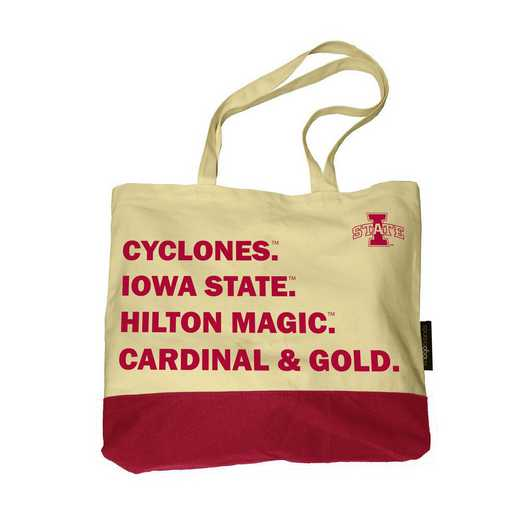 156-66F-1: Iowa State Favorite Things Tote