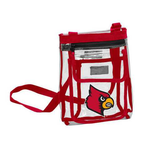 161-66P: Louisville Gameday Clear Crossbody