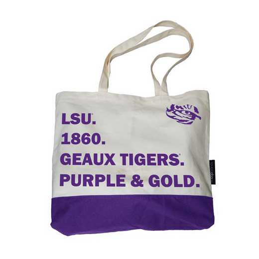 162-66F-1: LSU Favorite Things Tote