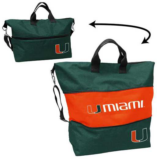 169-665-CR1: Miami Crosshatch Expandable Tote