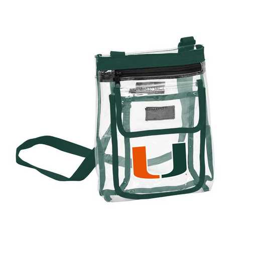169-66P: Miami Gameday Clear Crossbody
