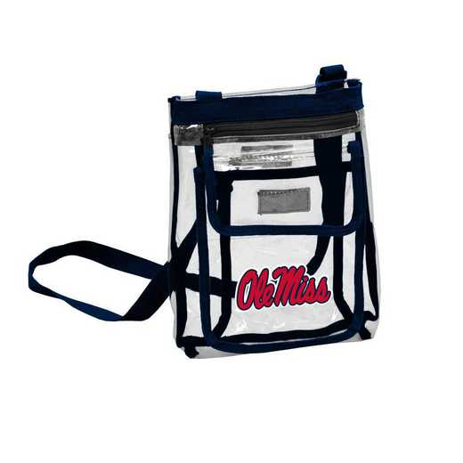 176-66P: Ole Miss Gameday Clear Crossbody