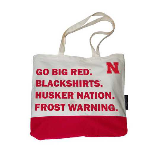 182-66F-1: Nebraska Favorite Things Tote