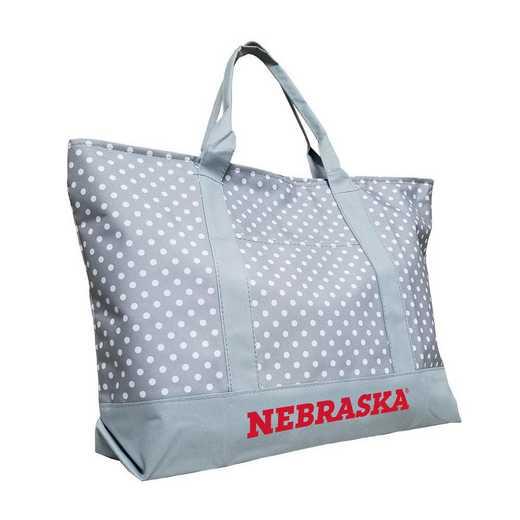 182-67P-1: Nebraska Dot Tote