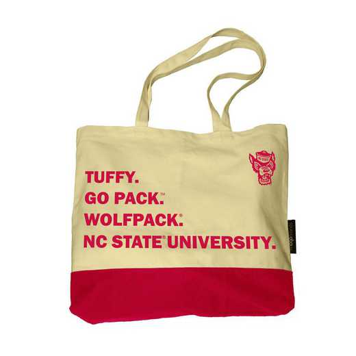 186-66F-1: NC State Favorite Things Tote