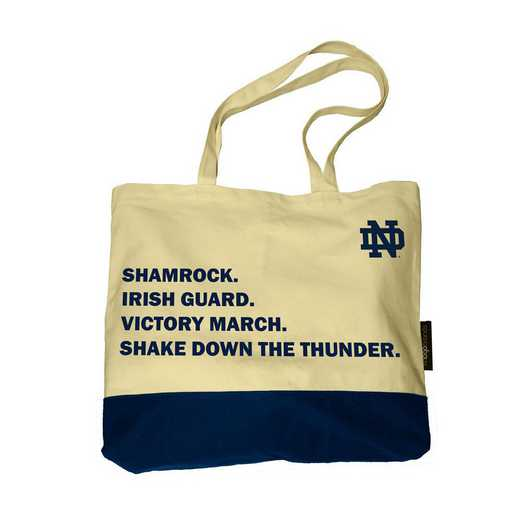 190-66F-1: Notre Dame Favorite Things Tote