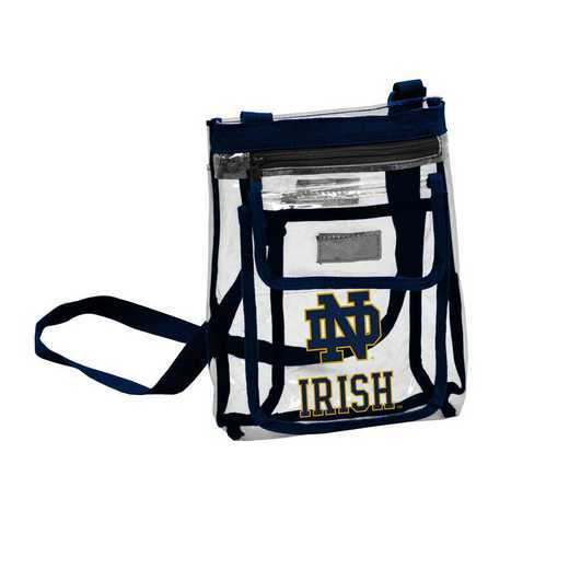 190-66P-1: Notre Dame Gameday Clear Crossbody